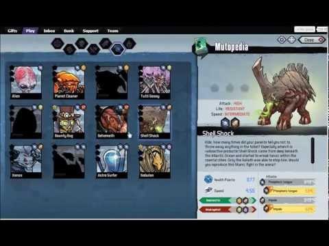 Mutants: Genetic Gladiators. Combinaciones parte 2 TODOS LOS MUTANTES . Jugando con Damty parte 9