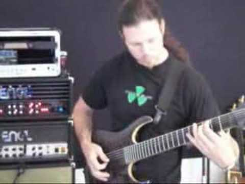 Chris Broderick - Nevermore rehearsal 7/29/07