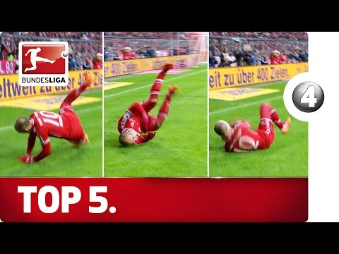 Sub now: http://redirect.bundesliga.com/_bwBd Behind door number 4 of our Advent calendar, we take a look at the 5 worst goal celebrations in Bundesliga history � some strange, some painful,...
