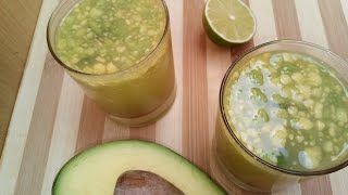 Avocado lime juice//Thani nadan cooking Malayalam