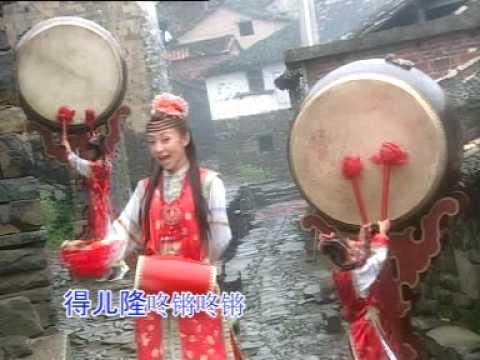 2008 Chinese New Year Song恭喜恭喜/春天来了/富贵花开迎新年/新年好/凤阳花鼓/花开富贵