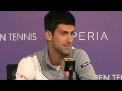 Novak Djokovic, the new Sony Open 2014´s champion (Miami)
