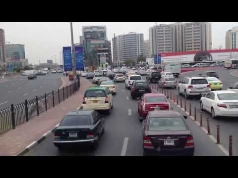 A Glimps of dubai traffic
