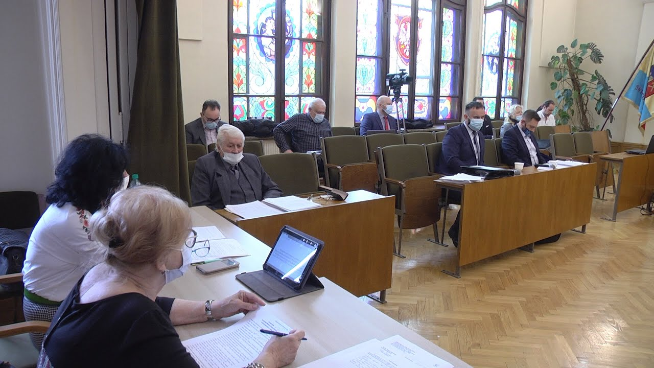 XL sesja Rady Miejskiej, część I