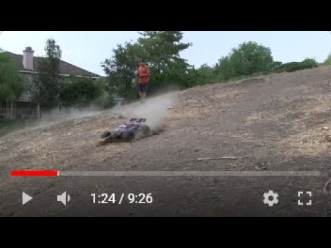 TRAXXAS E Revo Brushless HD Video with 5 cameras,  4 GoPro HD and 1 Ca