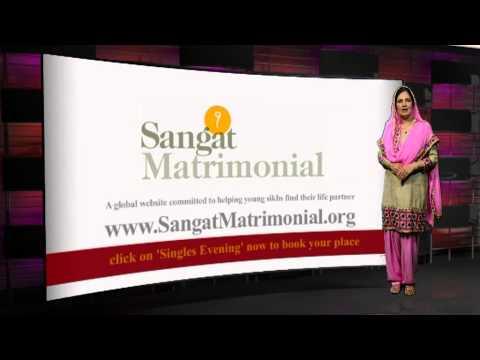 First Ever Singles Event for Sangat Matrimonial Members on 14 Dec 2013 Punjabi Promo
