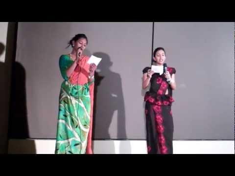 Nim Him Sewwa By Sarah & Samadhi  Serendipity 2012 - A Sri Lankan Charity Gala  Mcgill video