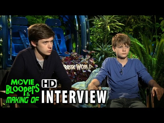Jurassic World (2015) Official Movie Interview - Nick Robinson & Ty Simpkins