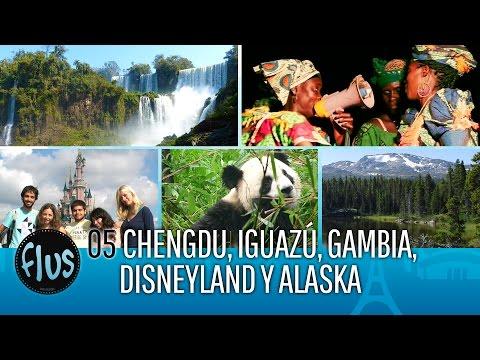Chengdu, Iguazú, Gambia, Disneyland, Alaska 05 Flus Viajes Por el mundo