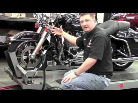 Tie Down a Motorcycle - Rooster's Harley-Davidson