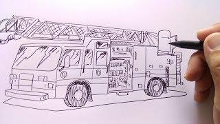 All Clip Of Cara Menggambar Dan Mewarnai Mobil Truk Bhclipcom