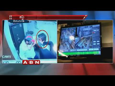 Caught on camera   Robbers loot jewellery shop in Sangareddy