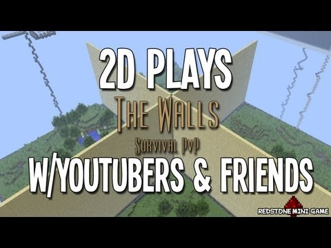 Minecraft: The Walls - W/ForDaShaun,Greatr & More!