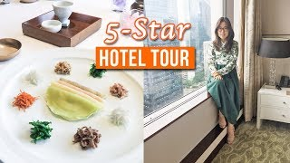 Inside a 5-Star Hotel in Seoul ♦ Korean Fine Dining Experience