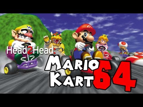 Mario Kart 64 - Head2Head 4Play