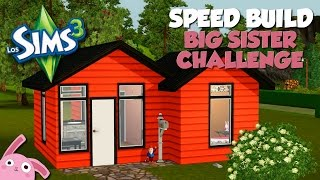 Speed Build | Big Sister Challenge | Los Sims 3