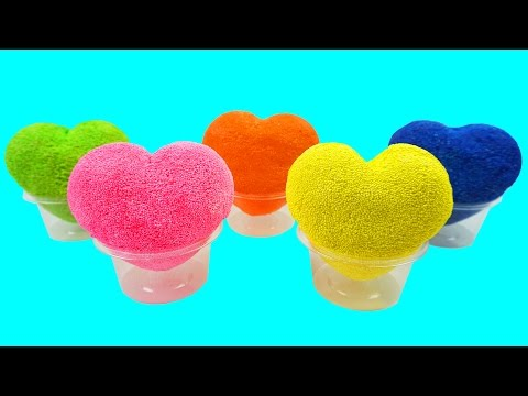 Foam Clay Ice Cream Surprise Eggs Learn Colors with My Little Pony Star Wars Kinder Surprise Eggs