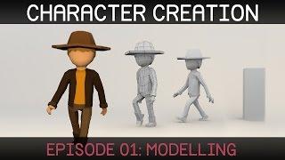 Blender Character Creation: Modelling
