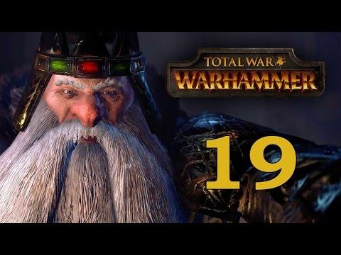 Прохождение Total War: WARHAMMER #19 - Архаон Навеки Избранный [Гномы]