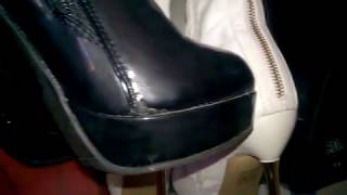 My collection of high boots with high heels