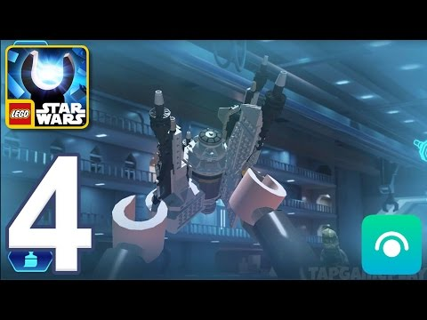 LEGO Star Wars Force Builder - Gameplay Walkthrough Part 4 - Padawan (iOS, Android)