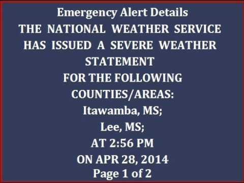 Tornado Event: Tupelo, MS (4/28/14)