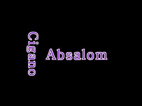 Absalom Cigano - Kizomba (2015) video