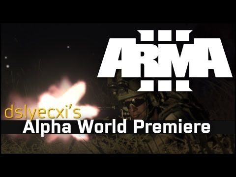 Arma 3 Alpha World Premiere 'Possibilities' Video
