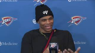 Thunder Exit Interviews: Russell Westbrook