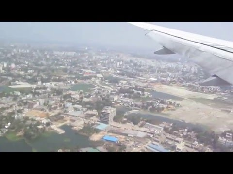 landing to bangladesh dhaka from air malaysia
