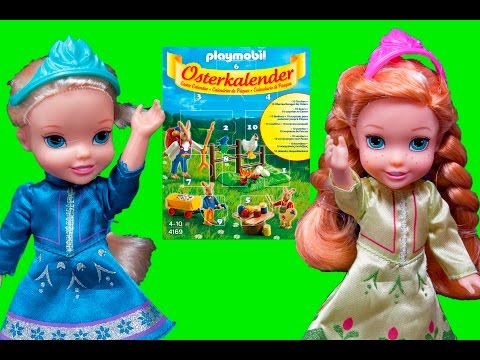 Elsa and Anna toddlers Easter advent calendar- Frozen adventures and episodes