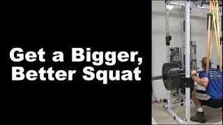 Get a Bigger, Better Squat with Reverse-Band Body-Spotted Squats