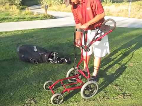 4 Wheel Push Cart 4 Wheel Golf Push Cart