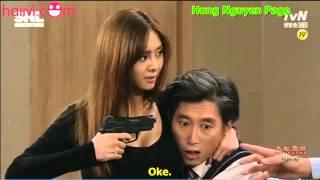 [Hài Hàn Quốc] Cướp thế này ai chả muốn làm con tin