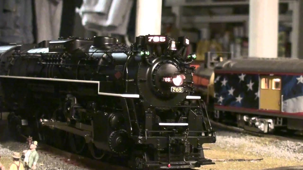 Lionel Legacy Nickel Plate Road Berkshire 765 Youtube