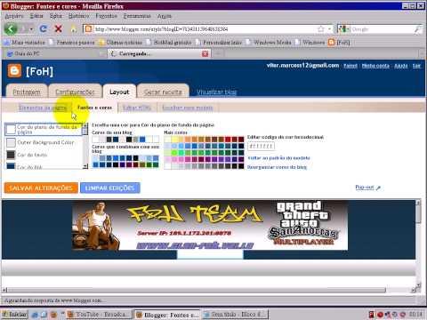 Como Mexer No Blogger =[ www.guiadopc.com.br/forum ]=