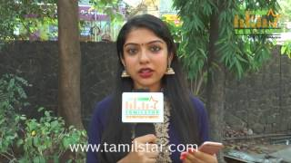 Varsha At Ivan Yaar Endru Therigiratha Movie Team Interview