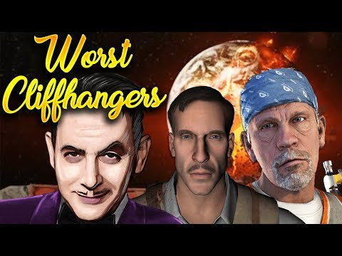 Top 5 Worst Cliffhangers in Call of Duty Zombies History (ALL COD ZOMBIES) Worst Zombies Endings!