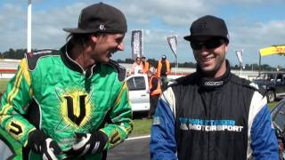 D1NZ Drifting Championship Series - Round 2 Highlights - Pukekohe Raceway 2011