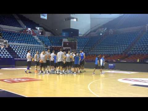 Let the practice begin in Pau