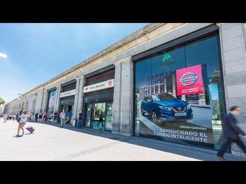 Nissan toma la estación de Renfe Cercanías de Nuevos Ministerios
