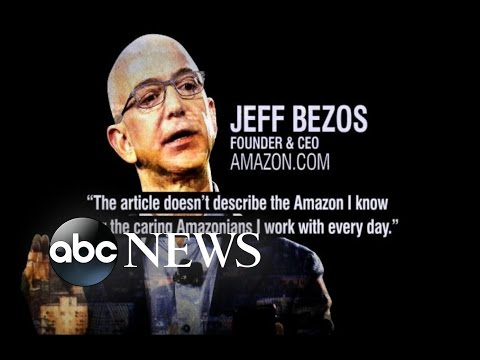 Amazon Under Fire For Alleged Difficult Working Environment