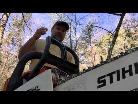 How to use a Chainsaw Safely. tourniquets and survival basics are important