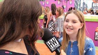 "Ella Anderson Talks ""Henry Danger"" Season 4 + ""The Glass Castle"""
