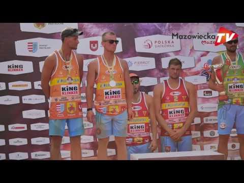 Puchar Polski W Siatkówce Plażowej Mężczyzn 2017 W Przysusze - Mecz Finałowy