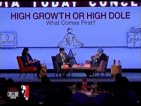 India Today Conclave: Economist Arvind Panagariya asks difficult questions to Montek Singh Ahluwalia