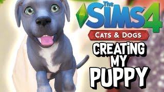 CREATING MY PUPPY in The Sims 4: Cats and Dogs