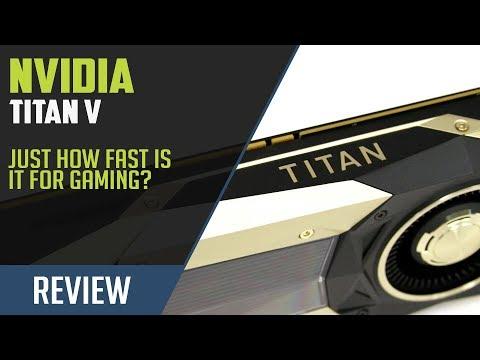 NVIDIA TITAN V Review Part 1: Gaming