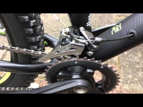 Shimano Deore XT M8000 Front Derailleur - Close-up review (Swideswing)