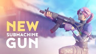 NEW SUBMACHINE GUN! - TACTICAL SMG VAULTED! (Fortnite Battle Royale)